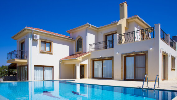 North Cyprus. Luxury villa in Bellapais