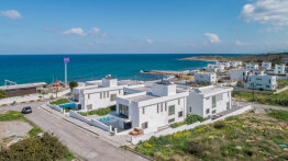 Spacious high-tech villa on the Mediterranean coast. Zero to the sea!