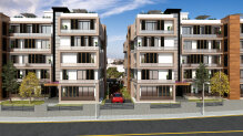 Three bedroom apartments in a new complex