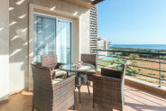 Seafront three-bedroom penthouse with roof terrace