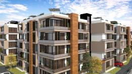 Two bedroom apartments in a new complex