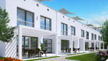 Three-bedroom townhouses in Bellapais