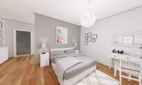 2 + 1 apartments in a newly built complex Esentepe