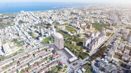 Spacious three-bedroom apartment in the center of Famagusta