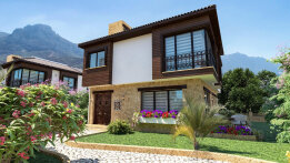 Three bedroom villa in Zeytenlik