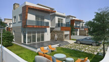 Spacious four-bedroom villas in suburb of Famagusta