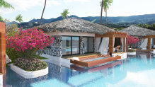 Amazing villa on the first line to the sea