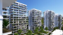 Studio apartments 200 m from the sea
