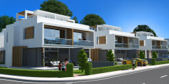 2+1 townhouse in a new luxury complex by the sea