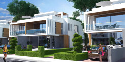 3+1 townhouse in a new luxury complex by the sea