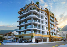 Penthouse in the central Kyrenia