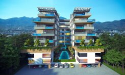 Aparments in an elite complex in Kyrenia