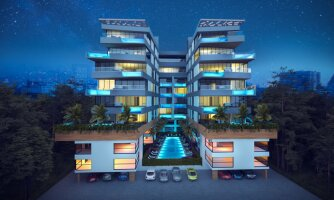 Four-bedroom apartments in an elite complex