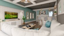 Villa 4 + 1 in Catalkoy 800 m from the sea