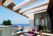 Spacious two-bedroom apartments in Kyrenia