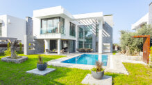 New build 4+1 villa in Ozankoy