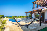 Villa at foothills with fabulous sea view