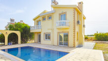 Three-bedroom villa within a walking distance to the beach