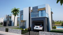 4+ 1 Villa in a complex under construction by the sea