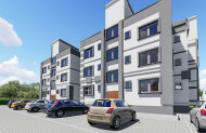 Two-bedroom apartments in a new complex in Alsancak