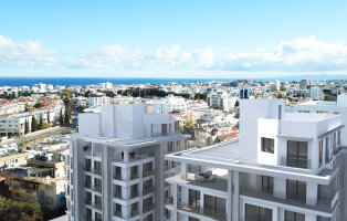 Elite penthouse 1 + 1 in the center of Kyrenia