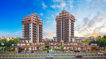 Apartments in a new complex, center of Famagusta