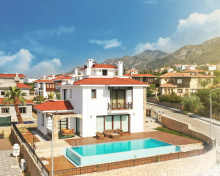 Villa 3 + 1 in 10 minutes from Bellapais Monastery
