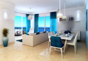 Apartment 2 + 1 100 meters from the beach