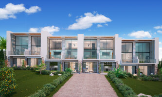 1 + 1 apartments in a newly built complex Esentepe