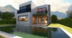Villa 3 + 1 with pool 1 km from the city beach of Kyrenia