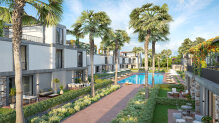One bedroom apartments in a prestige complex with private garden