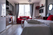 Studio in the center of Famagusta with a full range of furniture and household appliances