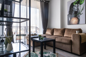 Modern one-bedroom apartments in the center of Famagusta
