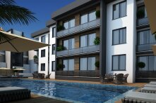 Great one-bedroom apartments in Alsancak