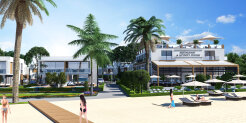 1+1 apartments in a new luxury complex by the sea