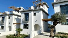 Two-bedroom villa in a new complex in Esentepe
