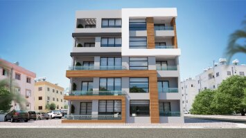 Two-bedroom apartments in Famagusta city center