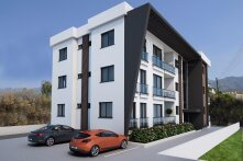 New two-bedroom apartments in Alsancak