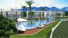 Two bedroom apartments in Esentepe