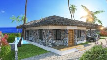 Three bedroom villa by the sea