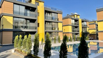 Two-bedroom apartment in a foothills of Alsancak
