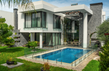 New build 3+1 villa in Ozankoy