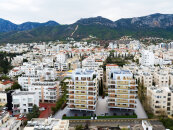 Comfortable apartments in the central Kyrenia